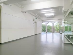 金町 レンタルスタジオ ダンスやヨガに使える金町レンタルスタジオの様子