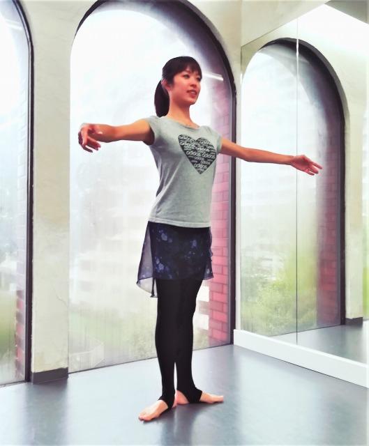 バレエ ストレッチ トレーニング 金町 記事 講師 薄井友姫(うすいゆき) 葛飾区 レンタルスタジオ