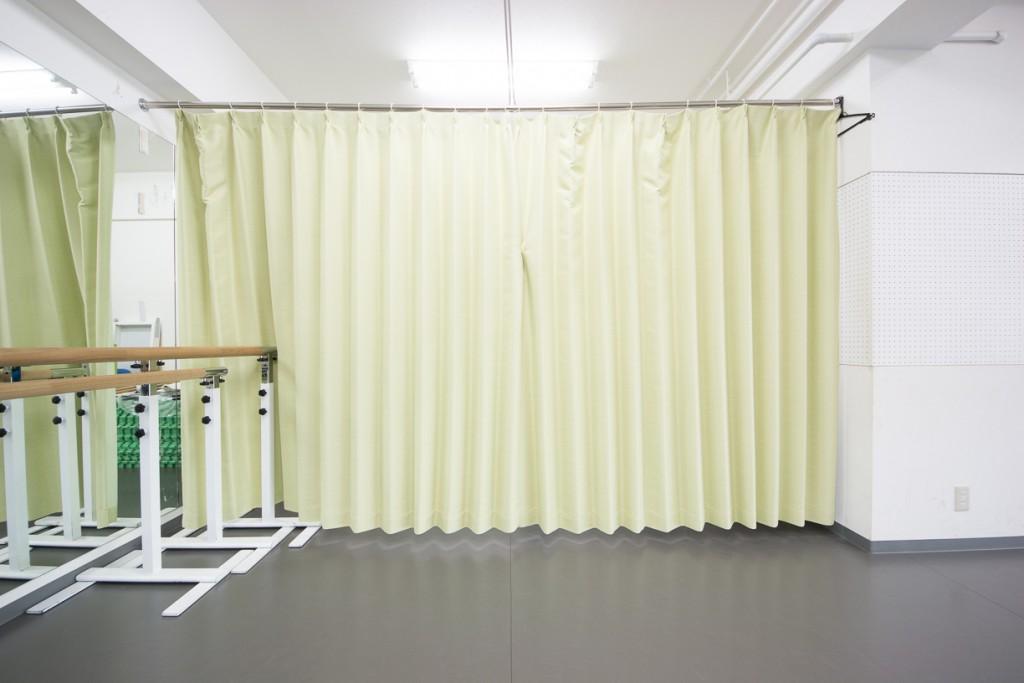 合気道やストレッチ教室など男女別に着替えができるレンタルスタジオ