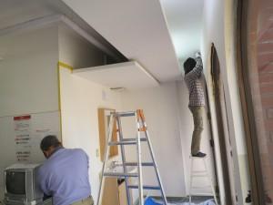 金町 ダンススタジオ 壁補修