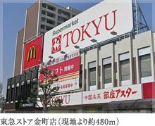 金町駅から近くにあるスーパー