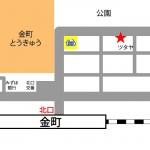 金町レンタルスタジオの地図 マップ