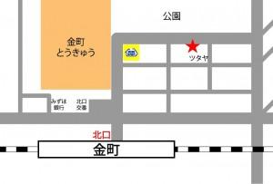 金町レンタルスタジオの地図